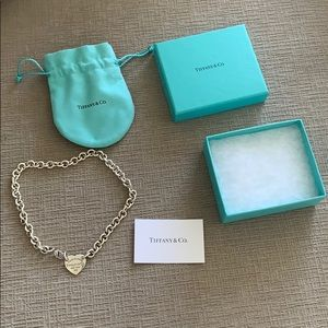 Tiffany & Co Return to Tiffany Heart Tag Choker